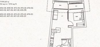 one-pearl-bank-floor-plan-1-bedroom-b1a-singapore