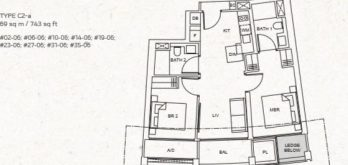 one-pearl-bank-floor-plan-2-bedroom-c2a-singapore