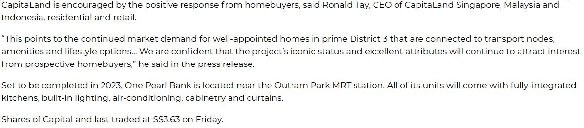 one-pearl-bank-singapore-160-units-out-of-200-released-on-launch-weekend